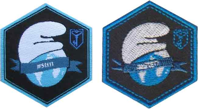 Comparing woven badges to embroidered badges