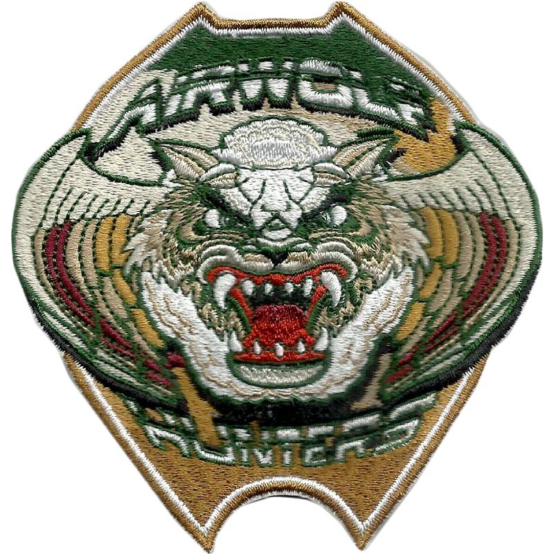 Embroidery badges with many details