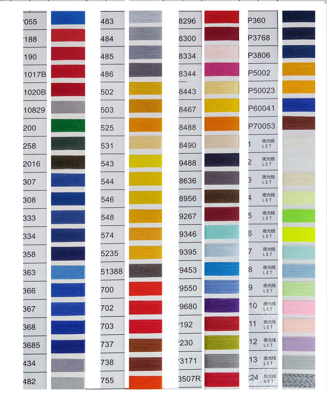 borduurgaren kleurmogelijkheden 4 van 4